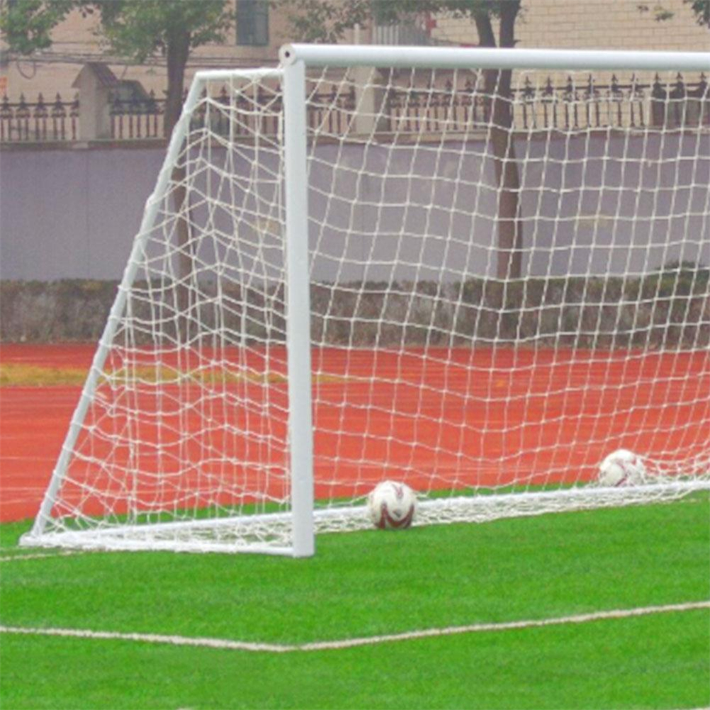 0e5bf916c Brand New 1Pcs Football Soccer Goal Post Net Full Size Sports Match Outdoor  Training Practice Junior Poly Fiber Wholesale-in Soccers from Sports ...