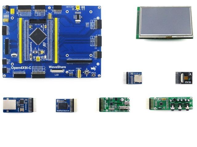 Placa de Desenvolvimento STM32 STM32F429IGT6 STM32F429 Placa STM32 ARM Cortex M4 + 7 Kits Do Módulo = Open429I-C Pacote Um
