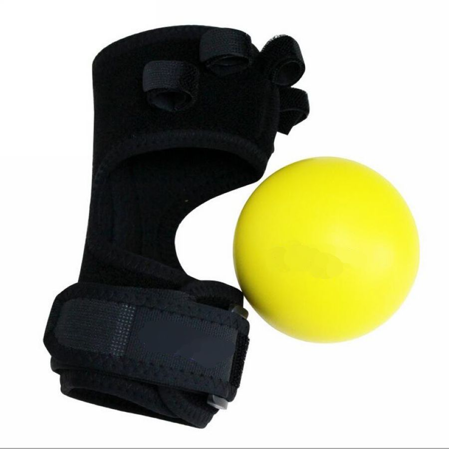 Image 2 - Deluxe Anti Spasticity Ball Splint Hand Functional Impairment Finger Orthosis Hand Ball Stroke Palsy Rehabilitation Exercise-in Braces & Supports from Beauty & Health