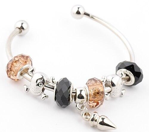 Fashion jewelry bracelet for women Silver Plated diy Crystal bracelet silver bracelets charm bracelet s-693 bangles