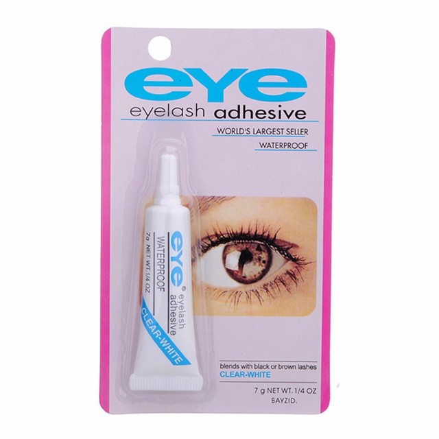 Duo Water Proof Eyelash Adhesive, Clear-White 1/4 oz (Pack of 4) Sudden change under-eye firming serum twin pack, 0.23 oz