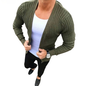Hot New Men Casual Slim Fit Warm Knitted