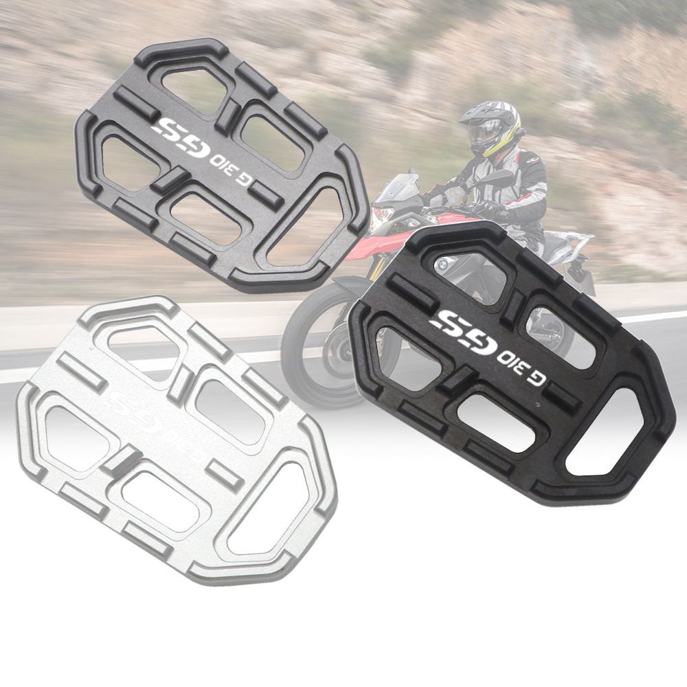 For BMW G310GS G310 GS G 310 GS 2017-2019 Motorcycle Billet MX Wide Foot Pegs FootRest Footpegs Rests Pedals