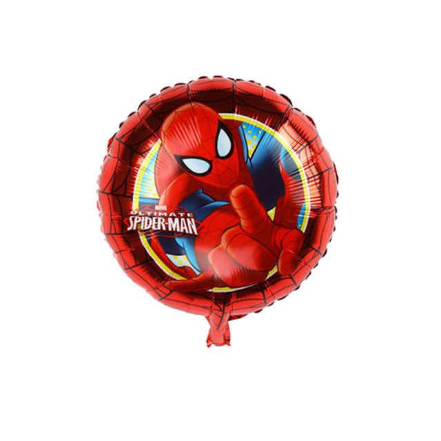 New Marvel Avengers Figuras Brinquedos Capitão América Homem de Ferro Hulk Spiderman Balões Foil Balões da Festa de Aniversário Do Menino Do Miúdo Brinquedos de Presente