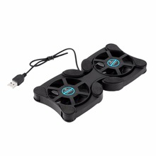 2 USB Port Mini Octopus Laptop Fan Cooler Cooling Pad Folding Coller Fan Cooling Pad Wholesale Store