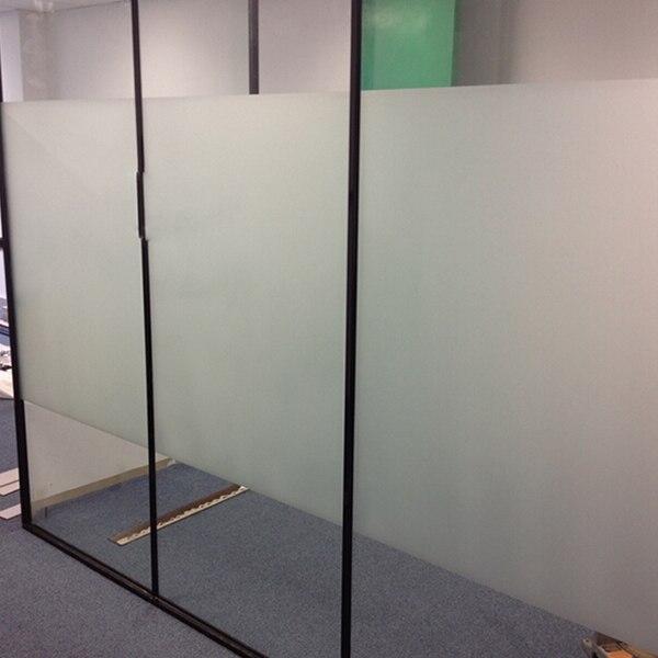 113 15 5ftx33ft Bureau Fenetre De La Vie Privee Film Blanc Non Transparent Solaire Teinte Film Pour Verre Partition Fenetre Mur 1 52x10 M Dans