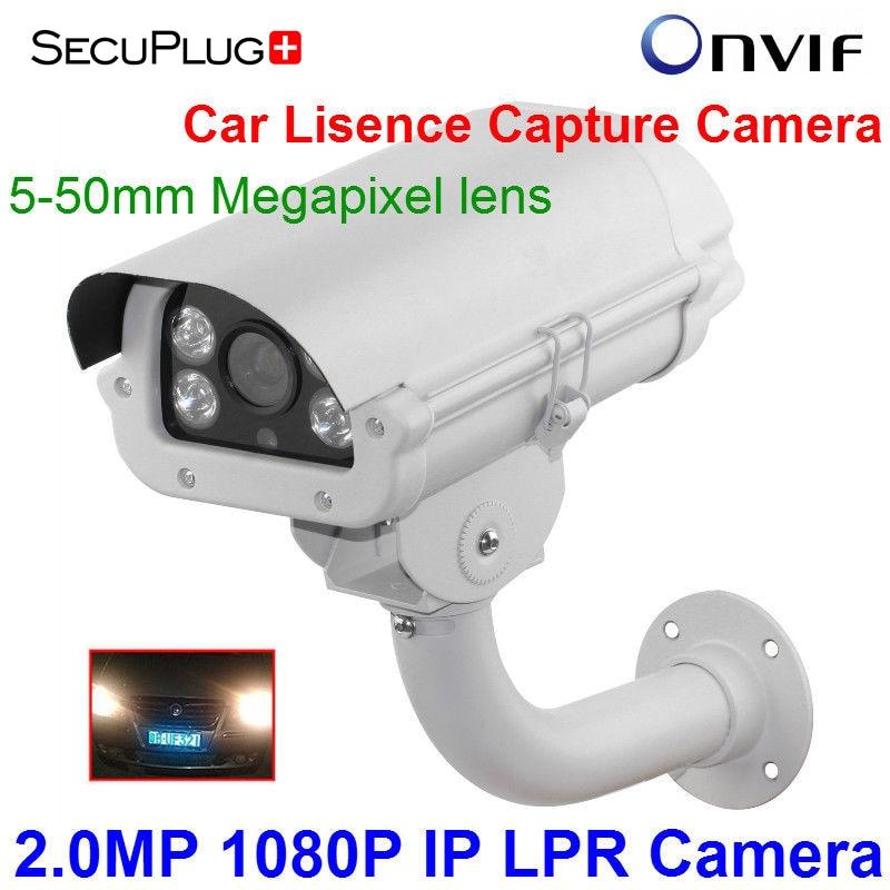 2MP Car License Plate Capture Recognition 1080P LPR POE IP Camera 5-50MM 3.0MP lens For Entrance/Packinglot/Gas Station/ Highway недорго, оригинальная цена