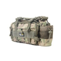New Arrival 40 * 15 * 19cm Swimming Bag Multi function Tackle Bag Waterproof Canvas Waist Fishing Lure Bag Shoulder
