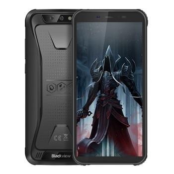 Перейти на Алиэкспресс и купить Blackview BV5500 pro Android 9,0 Pie мобильный телефон IP68 Ударопрочный Водонепроницаемый 4G мобильный телефон 5,5 дюймтелефоны 4400mAh прочный смартфон