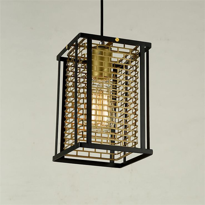 ФОТО Loft metal pendant lamp Northern Europe american vintage for Restaurant/Bedroom Home Decor Chinese style Edison hanging lights