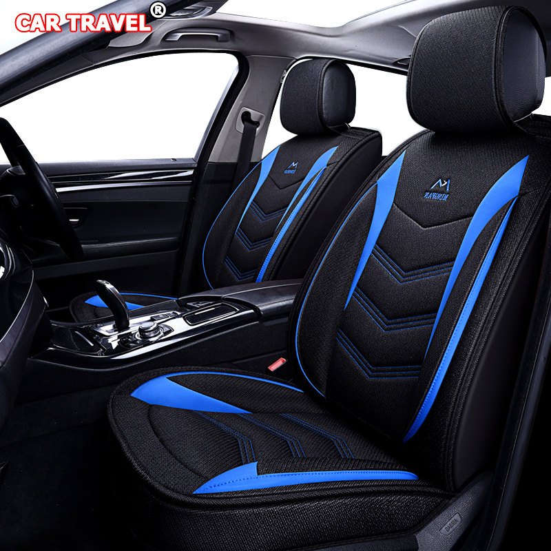 Housses de siège de voiture en lin de luxe pour KIA K2 K3 K4 K5 K7 Kia Cerato Sportage Optima Maxima carnaval rio ceed Automobiles - 5