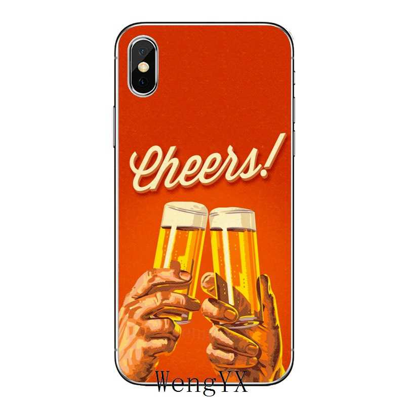 Drink Beer quotes funny silicone TPU Soft phone cover case For Huawei Honor  4C 5A 5X 5C 6 Play 6X 6A 6C pro 7X 8 9 Lite V8 V10