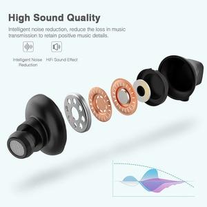 Image 4 - Lewinner W1 Neckband Bluetooth Earphone with Mic IPX5 Waterproof Sports Wireless Headphone Bluetooth for phone iPhone xiaomi