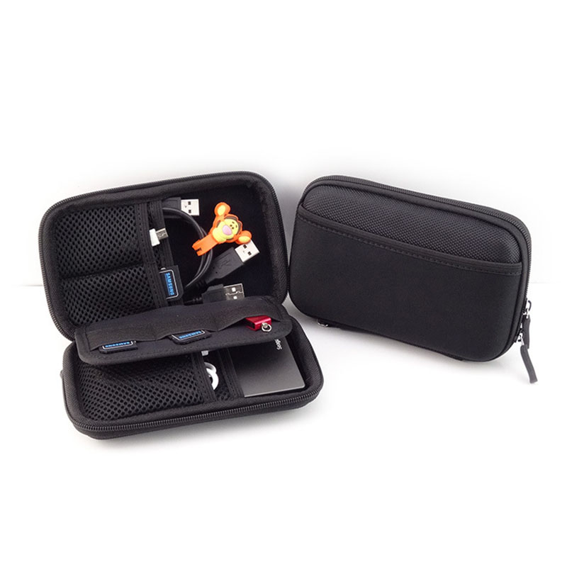 Portable USB Drive Card Kit 2.5 SSD Enclosure Hard Drive Sports Bag Bags Case Hard Disk Protection Bag XXM