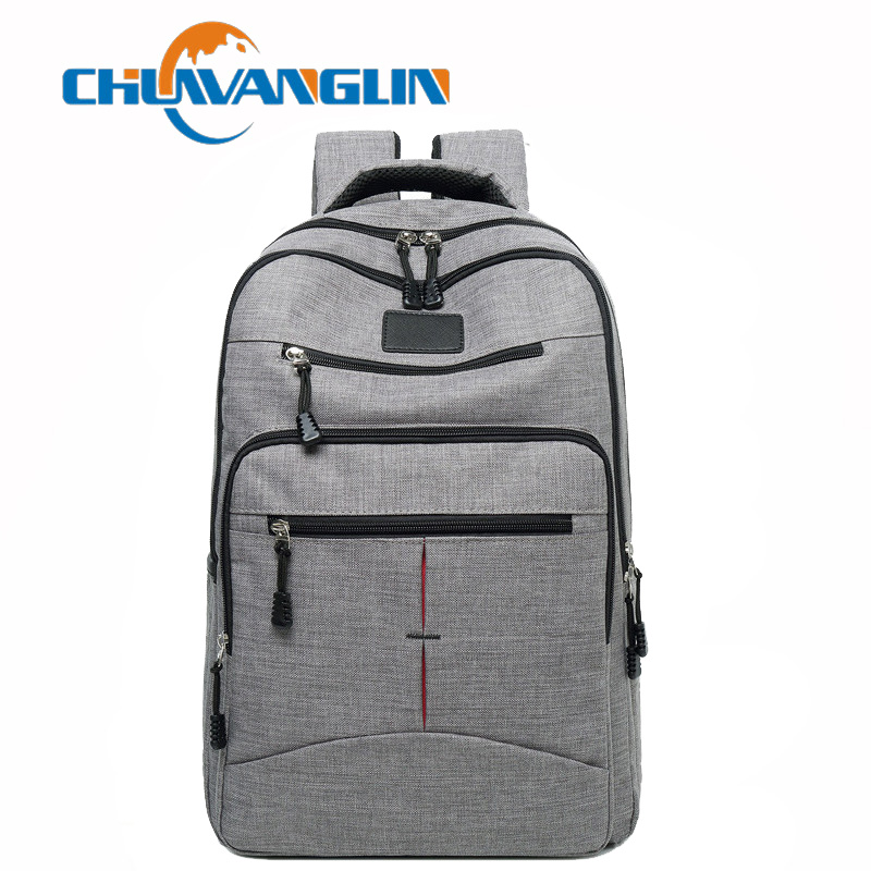 Chuwanglin Fashion Backpack Male Travel Bags Casual School Bag Waterproof Laptop Backpack Preppy Style Men's Backpacks S1610