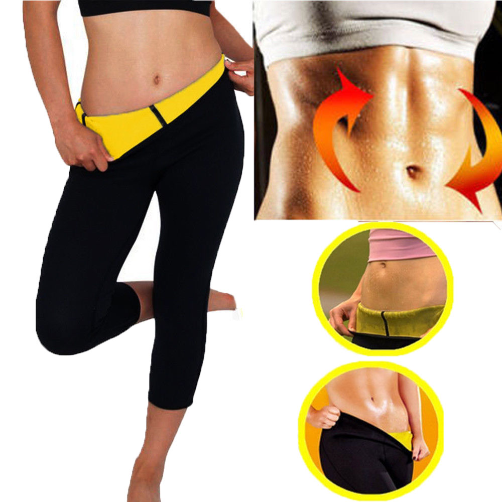 HEYME Hot Body Shaper Neoprene Sauna Sweat Women Slimming Pant Sweat Sauna Body Shaper Neoprene Belt Women Slimming Fat Burning(China)