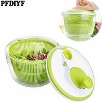 PFDIYF New Home Salad Dryer Vegetable Fruit Drain basket Dehydrator Shake Water Basket Multifunction Kitchen Mix Salad Tools