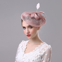 Mode Femmes Headwears de Magnifique Papillon Plume De Noce Cadeaux Cheveux Accessoires Attrayant Bandanas pour Jolies Dames