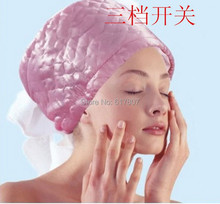 Free Shipping 1pc Electric Hair Thermal Treatment Beauty Steamer SPA Nourishing Hair Care Cap