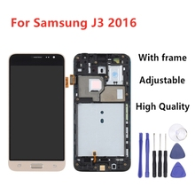 For Samsung J3 2016 LCD J320F J320FN J320M LCD Display Touch Screen Digitizer Frame Home Button For Galaxy J3 Display+Tools стоимость