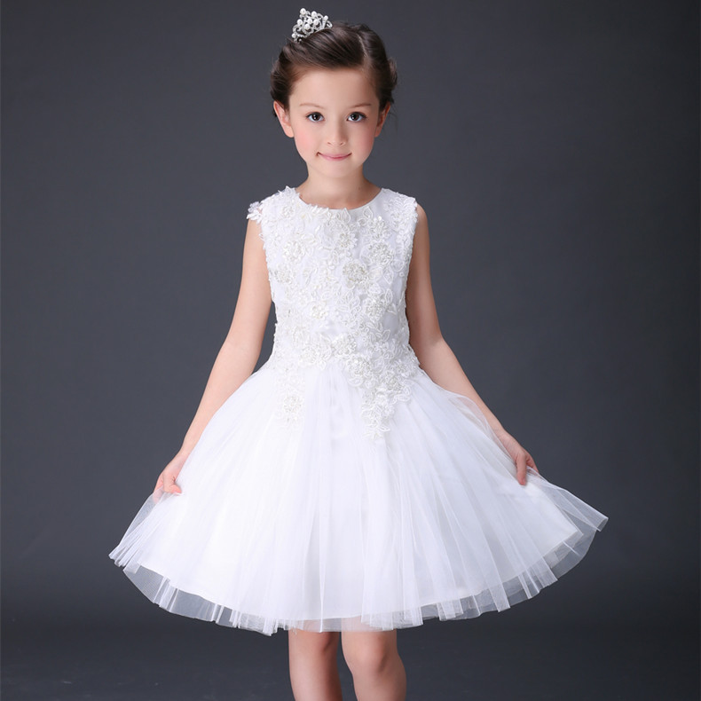 so beautiful good quality 2017 new summer boys Girls Kid Lace princess dress  comfortable cute baby Clothes Children Clothing