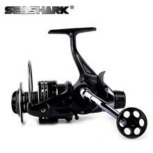 SEASHARK  12BB 5000 6000 Gear ratio 4.7:1 Spinning Reel Big Sea Fishing Reel  Aluminum Alloy Saltwater Spool  Spinning  Reels
