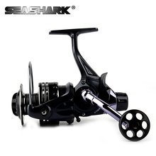 SEASHARK  12BB 5000 6000 Gear ratio 4.7:1 Spinning Reel Big Sea Fishing Reel  Aluminum Alloy Saltwater Spool  Spinning  Reels