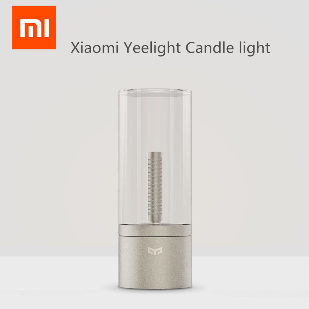 цены Original Xiaomi Mijia Yeelight Candela Led Smart Night ight ,The Smart Mood Candle light,For xiaomi Mi home App & Amazon Echo