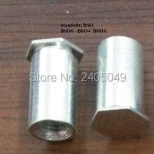 BSOA-M5-16 штора резьбовые стойки, aluminum6061, природа, PEM стандарт,, сделано в Китае