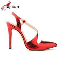 Big Size 40 42 Sexy OL font b Women b font Shoes High Heel 11CM European