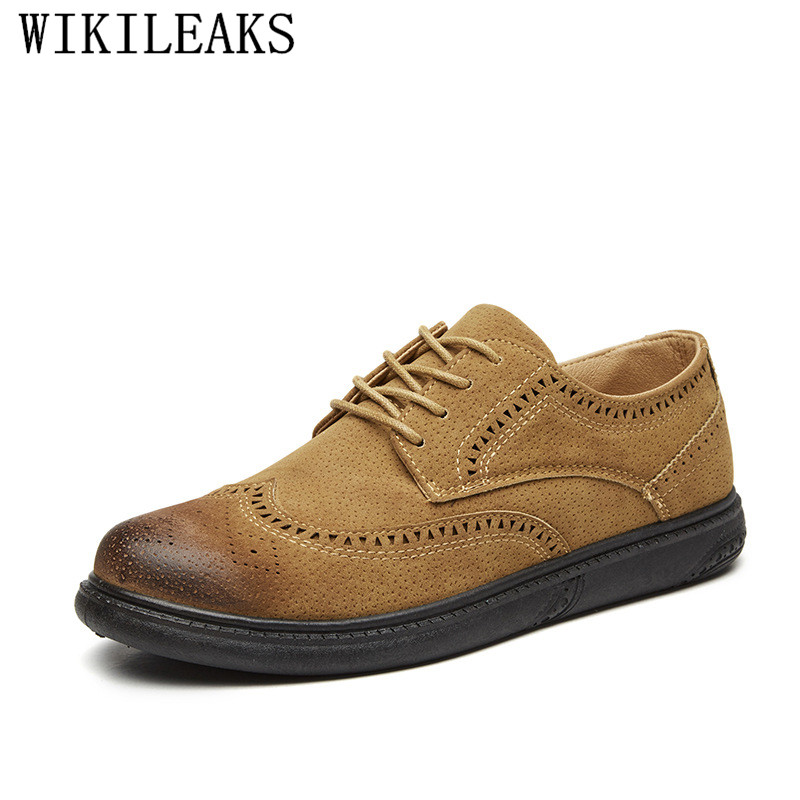 Bullock Carved Men Shoes Classic Business Formal Wedding Shoes   Suede     Leather   Bullocks Oxford Shoes For Men Moccasin Dress Shoes