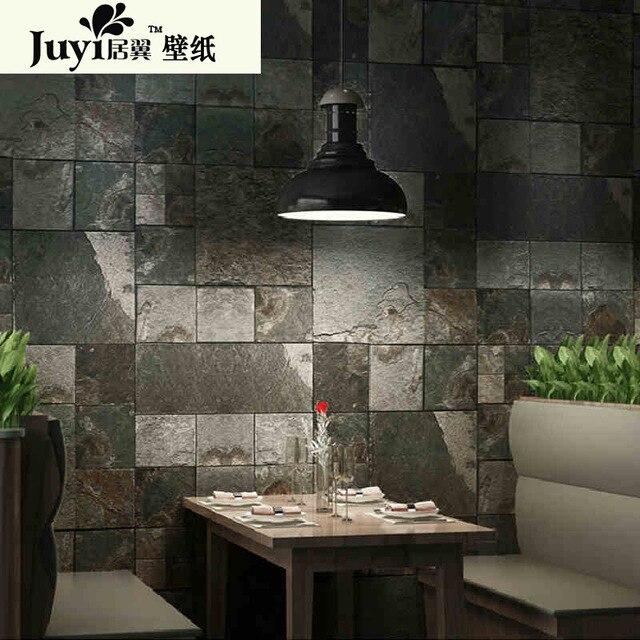 Textured wallpaper home decor