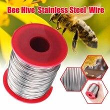 Проволока из нержавеющей стали для улей 0,5 мм 500 г, инструмент для пчеловодства, рамка в виде пчелиного улья, основа