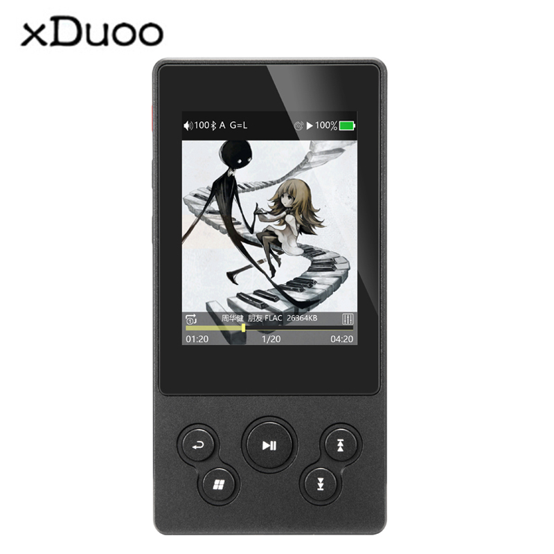 XDUOO X3II AK4490 DSD128 USB <font><b>DAC</b></font> Bluetooth Tragbare HD Lossless Musik-<font><b>Player</b></font> image