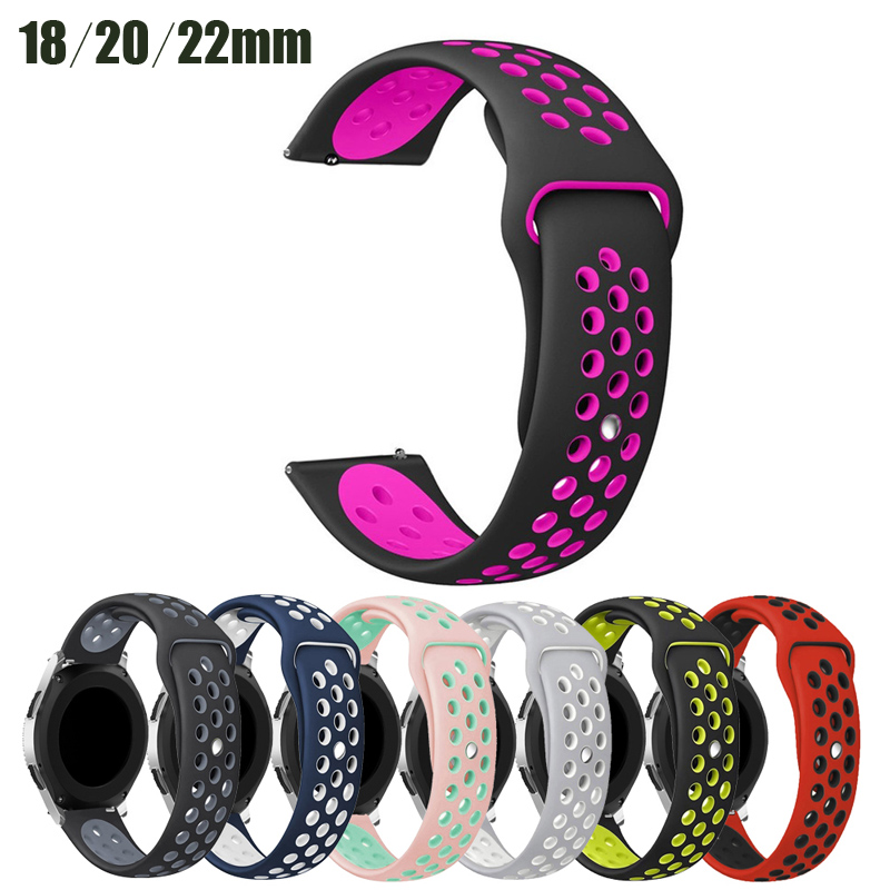 20mm Smart Watch Bands Compatible For Amazfit Bip/ 42mm Smartwatch Samsung Galaxy Watch Active 2/Huawei Watch 2/POLAR Ignite
