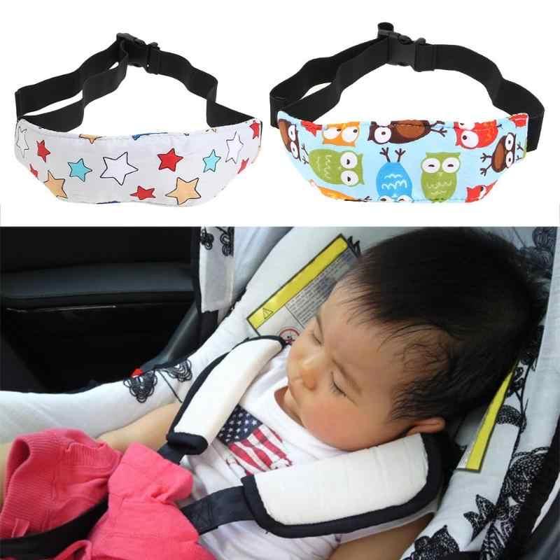 Cadeira do bebê encosto de cabeça suporte para dormir cinto almofadas de carro segurança assento de carro sono nap cabeça banda crianças cabeça proteção nova