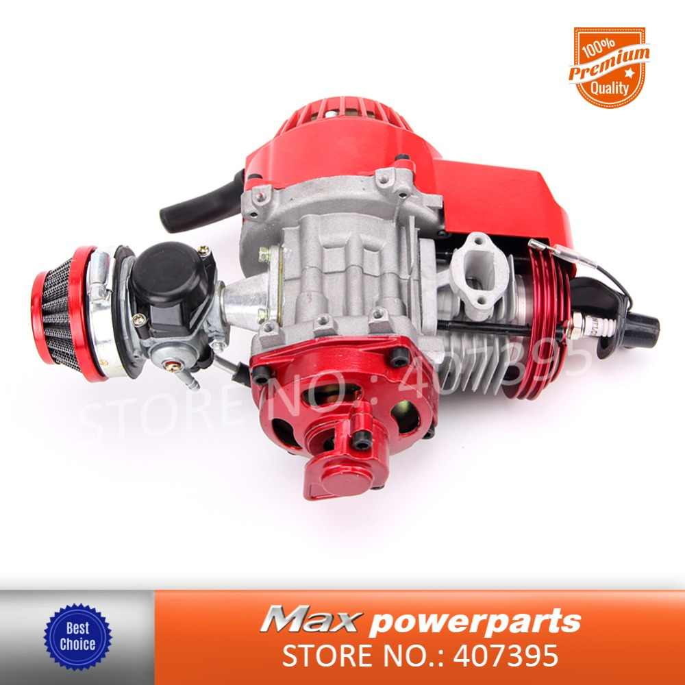 hight resolution of cnc cylinder 43cc 47cc 49cc 2 stroke engine for mini motor minii quad rocket pocket bike
