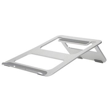 Эргономичный Дизайн Алюминий сплава ноутбука стенд стол Док держатель кронштейн охлаждения Cooler Pad складной для MacBook Pro/Air/ iPad/телефон