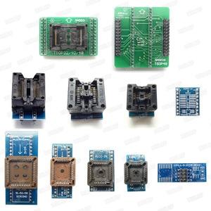 Image 5 - XGECU 100% Original Minipro TL866ii PLUS USB 프로그래머 + TSOP48 NAND 어댑터가있는 13 어댑터 TL866ii 범용 Bios 프로그래머