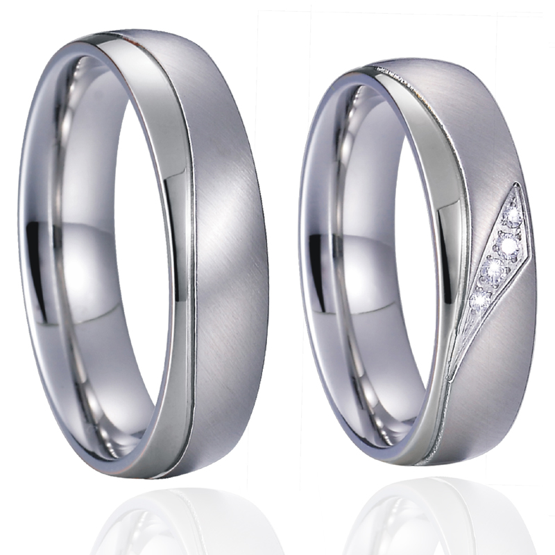 Wedding Rings set for men and women