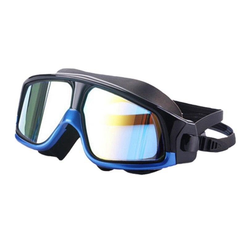 Очки для плавания ming, для мужчин и женщин, спортивные, профессиональные, анти-туман, защита от ультрафиолета, водостойкие, регулируемые, очки для плавания - Color: 3