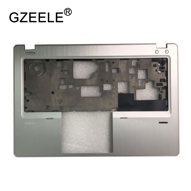 GZEELE New Laptop LCD TOP CASE For HP EliteBook Folio 9470M Palmrest Keyboard Bezel Cover Upper Case Assembly C Shell gzeele new laptop bottom base case cover for hp for elitebook 8560w 8570w base chassis d case shell lower case 652649 001 black