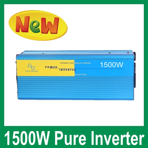 1500W Pure Sine Wave Inverter 12 Volt 220 Volt for Home Use Off Grid Solar Power System micro inverters on grid tie with mppt function 600w home solar system dc22 50v input to ac output for countries standard use