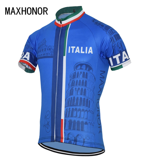 2eda7d74c 2017 NEW arrival from Italy cycling jersey blue short sleeve cycling  clothes BIKE WEAR Custom made wholesale men s upper cycle