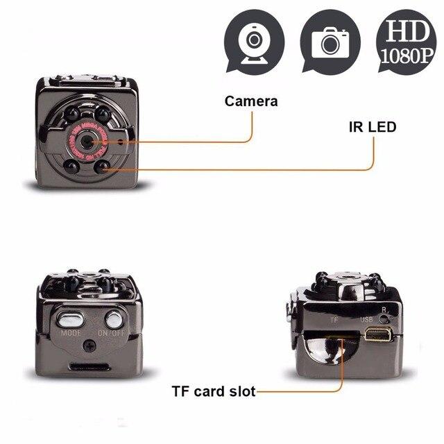 Spy SQ8 Скидка 1080 P Мини Камеры 12MP Инфракрасного Ночного Видения HD Скрытая Цифровая Микро-Камера Motion Detection Recorder Секрет Espia
