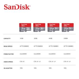 Image 5 - 100% oryginalna karta micro sd Sandisk Class10 TF card16gb 32gb 64 gb128gb 80 Mb/s karta pamięci 200GB dla telefonu huawei i tabletu