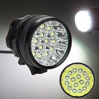 Bright 60000lm Bicycle Light 3 Modes Cycling Lamp Super Waterproof 16x XML T6 LED Bike Light