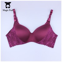 34 75 36 80 38 85 40 90BC 2016 New 3D Bras Lace Floral Smooth Bras