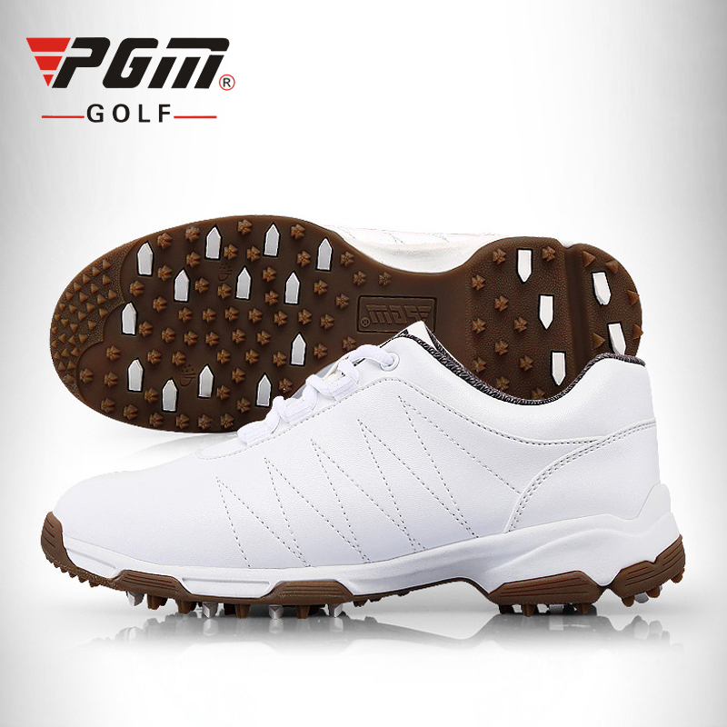 PGM Patent Design Golf Shoes Womens Slip-proof Shoes Nails Golf Sneakers Waterproof Breathable Antiskid Sports Shoes Female