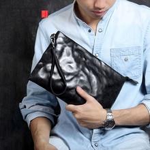 AETOO Simple Retro head cowhide large capacity hand bag leather casual envelope bag колготки для девочки totall микки маус и друзья цвет серый черный 12 2155 kg размер 110 116 4 6 лет